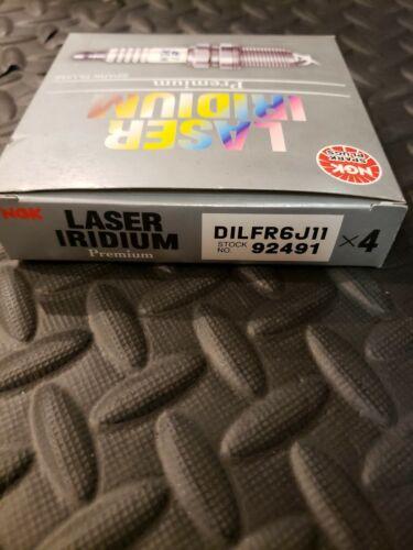 4 x NGK Laser Iridium Plug Spark Plugs 92491//DILFR6J11