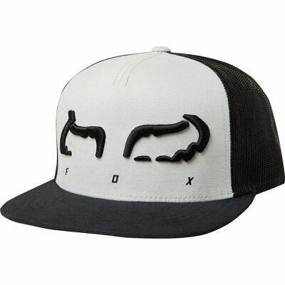 Fox Racing Men's Hat Cap Strap Snapback Hat Steel Gray 22992-172-OS