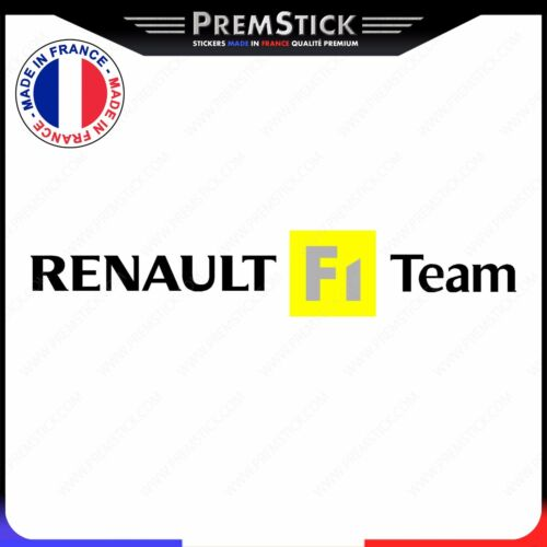 Stickers Renault F1 Team rf26 Sticker Auto Autocollant Voiture Tuning Logo