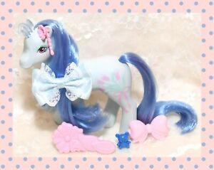 ❤️My Little Pony MLP G1 Vtg Sweetheart Sister Flowerburst Flower Brush Earring❤️