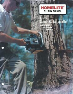 Equipment-Brochure-Homelite-XL-12-Super-XL-Automatic-Chain-Saw-c60-039-s-E4364
