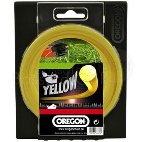 Freischneider Mähfaden rund gelb 4,0mm x 32 m Oregon Yellow Roundline Motorsense