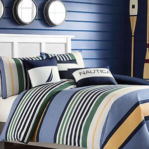 Nautica Dover 3 Piece Comforter Set Ebay