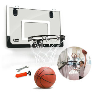 Mini-Basketball-Hoop-With-Ball-18-inch-x12-inch-Shatterproof-Backboard-H6W3