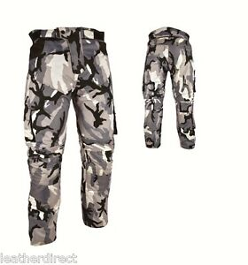 Camo-Pantaloni-Impermeabili-Motocicletta-Motociclo-Motocross-Tessuto-Protezione