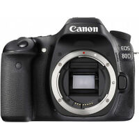 Canon EOS 80D 24.2MP Full HD 1080p Digital SLR Camera Body (Black)