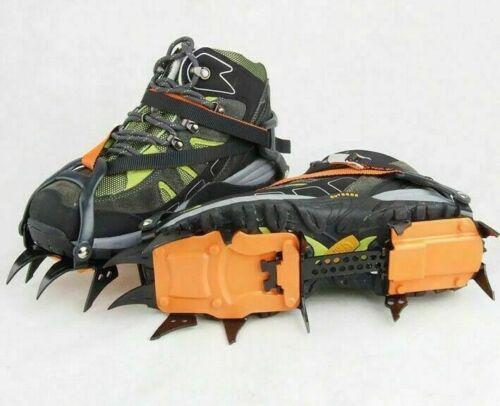 1 Paar 12 Zacker Steigeisen Wanderschuhe Kletterhilfe rutschfest Schuhe Cover