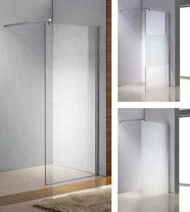 Duschabtrennung Glas Duschwand Walk In NANO Duschkabine 10mm ...