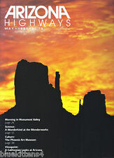 1987 MAY  ARIZONA HIGHWAYS PRESIDIO TUBAC  BILL AHRENDT MESA PHOENIX ART MUSEUM