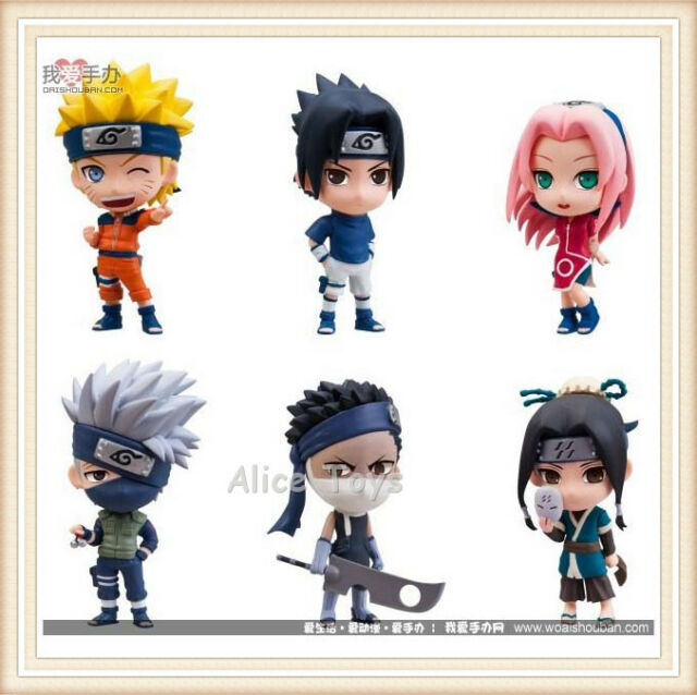 New Japan Anime Naruto figures figurines lot of 6pcs #A UK