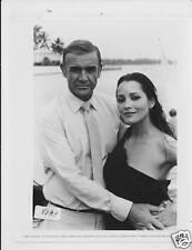 ! Sean Connery Barbara Carrera VINTAGE Photo James Bond