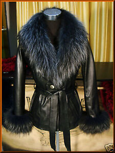 Early consumption guidance  Giacca Giubbino Giubbotto in pelle pelliccia per donna   eBay