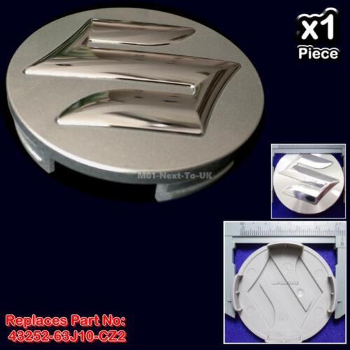 Genuine Suzuki SWIFT SX4 SPLASH Alloy Wheel Centre Cap Silver 43252-63J10-CZ2