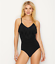 miniature 4 - Magicsuit BLACK Blaire Fringe Underwire One-Piece Swimsuit, US 8