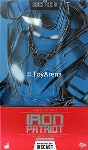 Hot Toys Iron Man 3 figure 6ème échelle Patriot Diecast 4897011175089