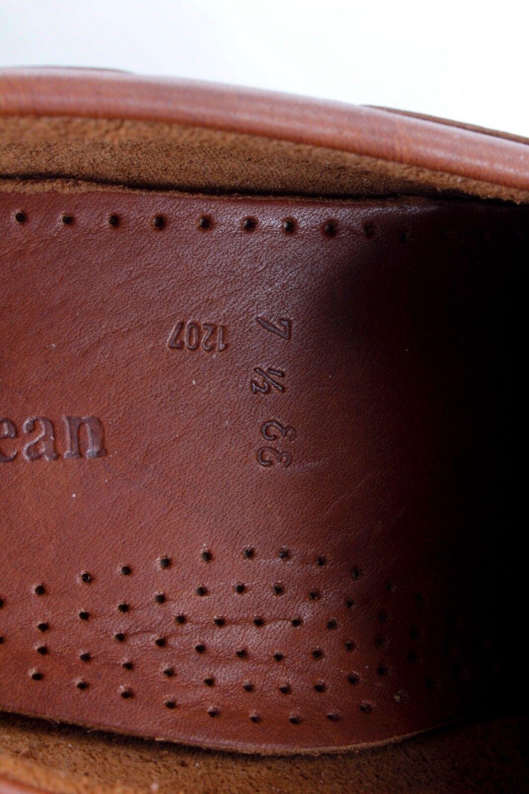 L.L. BEAN Handsewn Braun 7 Leder Kiltie Tassel Moccasin Loafer 7 Braun D 374c09
