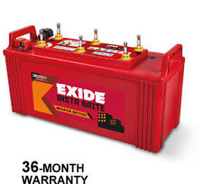 Combo - Exide New InstaBrite 100AH Inverter UPS Battery + Luminous Ecowatt 650VA