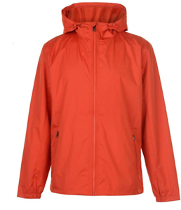 Pierre-Cardin-leichte-JACKE-orange-Kapuze-Herren-Groesse-UK-M-ref143
