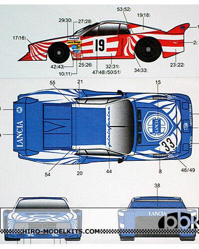 1  24 Trans  U0026 Replacement Decal Lancia Beta Monte Carlo  19