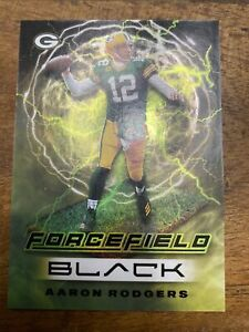 2021 panini black FOTL Aaron Rodgers FORCEFIED case Hit.