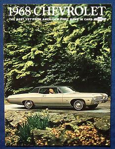 Prospekt-brochure-1968-Chevrolet-Chevy-Impala-Bel-Air-Biscayne-USA
