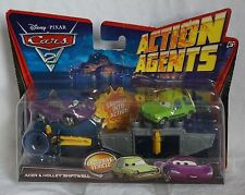 Disney Pixar Cars 2 Action Agents Holley Shiftwell & Acer Plastic Car NEW 2010