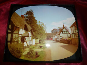 Vintage-1960s-BOXED-TABLE-MATS-x-6-Tin-Top-amp-Cork-Country-Cottage-DAVENPORTS