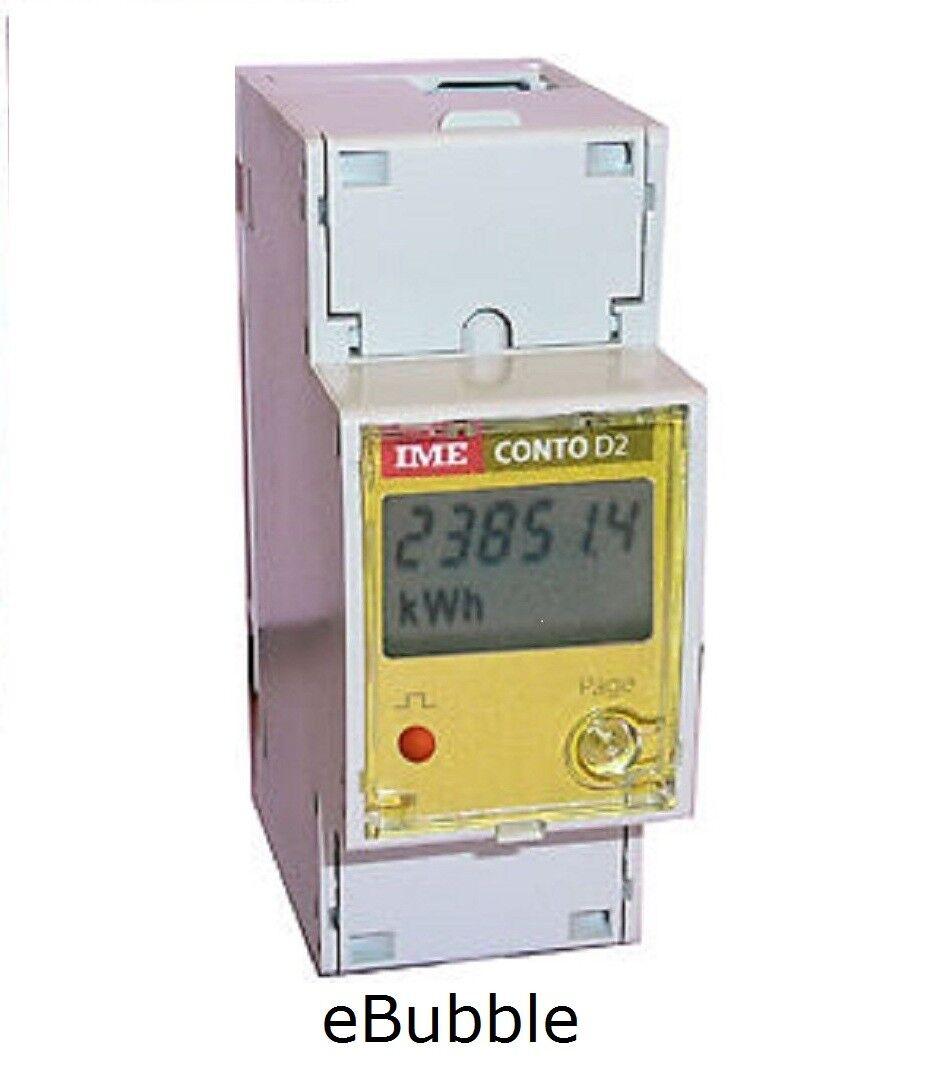 IME CE20195A2 CONTATORE ENERGIA TIPO ENEL MODULARE ELETTRONICO CASA