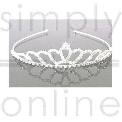 Kleidung & Accessoires KüHn Kristallrhinestone-imitatperlenblumenpartei-brautstirnband-tiara Klar Braut-accessoires