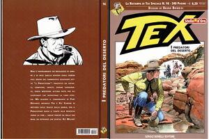 Tex-Stella-d-039-oro-16-I-predatori-del-deserto-Ristampa-di-Tex-Speciale-n16