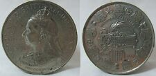 Victoria 1837-1897 60 Year Commemorative White Metal Medallion by Spink & Son