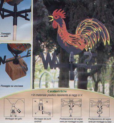Segnavento Verdemax a forma di gallo art. 2899