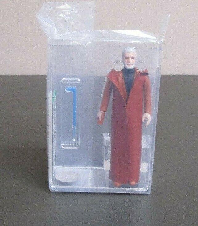 Ben Obi-Wan Kenobi Dark Grey 1977 STAR WARS Graded Graded AFA 85 NM+ HK JJ New Case