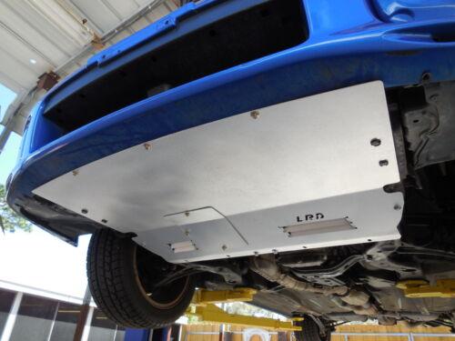 LRB Speed Undertray Fits 02-03 Subaru WRX Bugeye Aero Front Only Aluminum