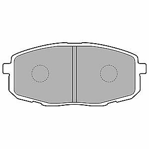 OE Quality Brand New Brake Pad set 21555-12 Months Warranty!