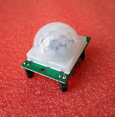 3PCS HC-SR501 IR Pyroelectric Infrared IR PIR Motion Sensor Detector Module M17