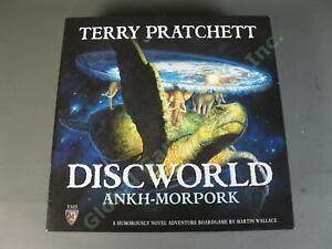 Discworld Ankh-Morpork Terry Pratchett Board Game Martin Wallace 3305 COMPLETE!