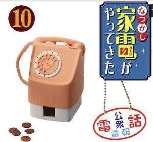 RE-MENT Nostalgia Electric Appliances 2006 Set 10 Retrò Telefono & monete! Nuovo di Zecca