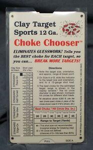 Choke-Chooser