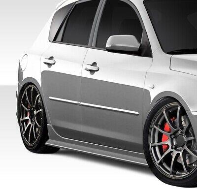 Driver side WITH install kit LED 6 inch -Black Post mount spotlight 2007 Mazda 3 HATCHBACK 5DR