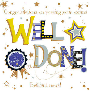Well done passing exams embellished greeting card by talking image is loading well done passing exams embellished greeting card by m4hsunfo