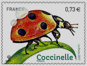 TIMBRE-5147-NEUF-XX-Insectes-Coccinelle