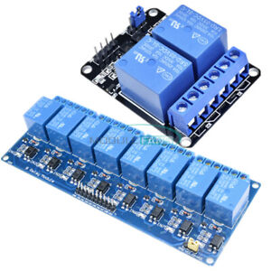5V-Eight-2-8-Channel-Relay-With-Optocoupler-Module-For-Arduino-PIC-AVR-DSP-ARM