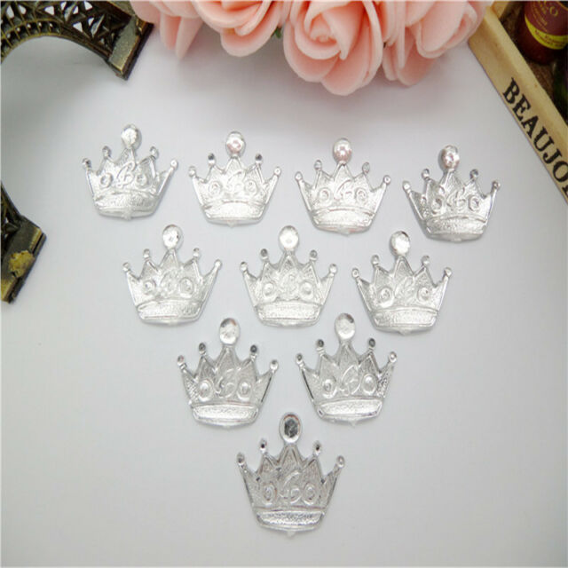 DIY 20pcs Resin Crowne flatback Scrapbooking for phone/wedding/craft PICK Color