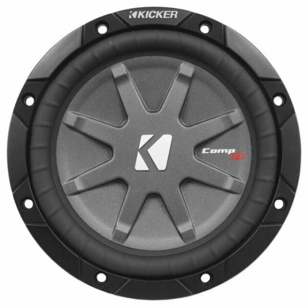 """2 KICKER 40CWRT672 CAR 6.75/"""" 2 OHM COMPRT SHALLOW SUBWOOFERS SUB WOOFERS PAIR"""