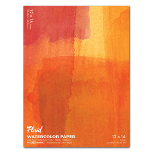 Fluid Watercolor Cold Press EzBlock 12X16
