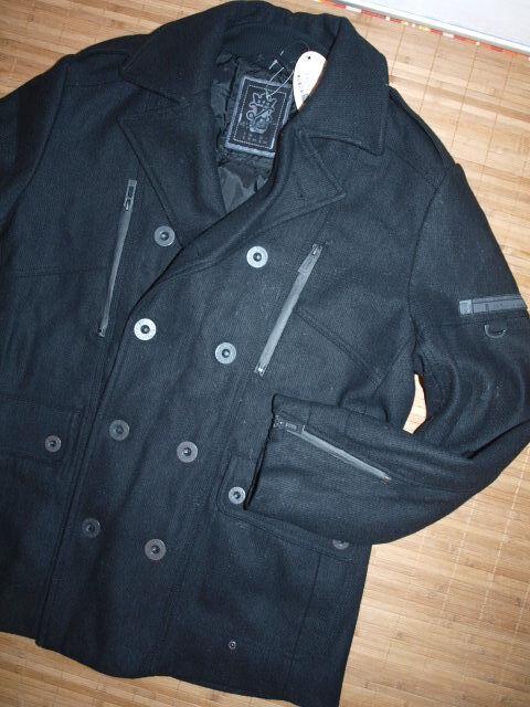 ESPRIT  Premium Mantel aus Woll-Mix   (xL)  NEU edc Wollmantel 60%Wolle