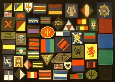 Patch ,Mercian Regiment 1st Battalion Cheshire Abzeichen TRF
