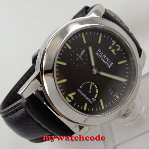 44mm-PARNIS-black-dial-Sapphire-glass-ST2530-Automatic-Mens-Watch-P700