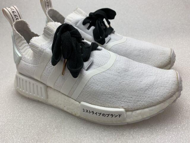 Adidas NMD R1 PK Triple White Japan Boost Black Mens Size 8 BZ0221